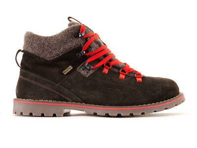 CMP Hiking shoes Hiking shoe Lace-ups brown leather Profile sole Winter