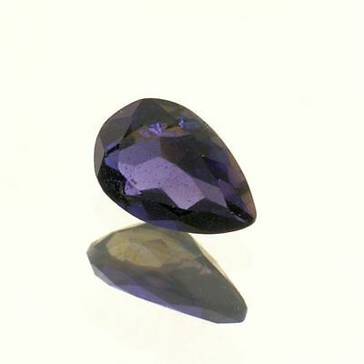Natural Iolite 7x4.7mm Pear (One of a Kind Stone)