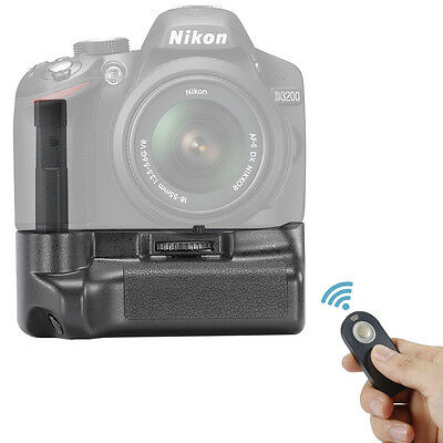 Neewer Remote Control Vertical Battery Grip for Nikon D3200 D3300 SLR Camera