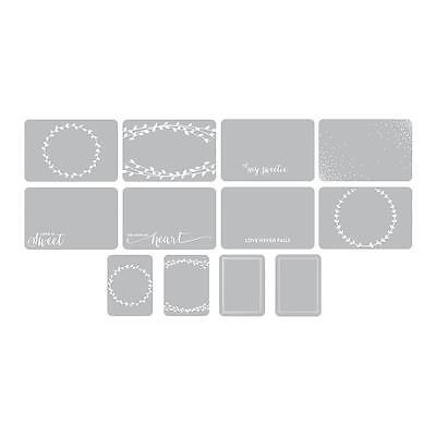 Project Life Photo Overlays - Southern Weddings - Pk of 12 - Scrapbooking