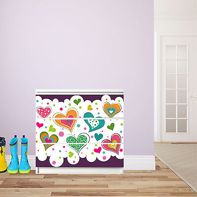 stickers commode malm stickers pour meubles ikea malm commode armoire tatouage enfants with. Black Bedroom Furniture Sets. Home Design Ideas