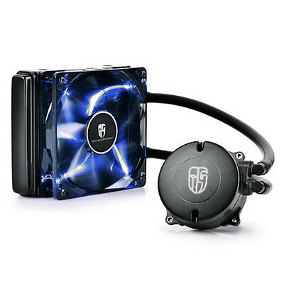 Water Element 120t 240K Water Cooling System CPU Liquid Cool Fan for PC Hardcore