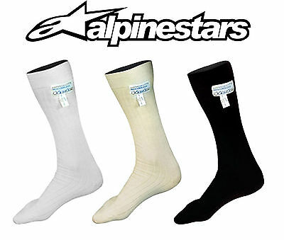 Alpinestars Nomex Socks Race Club, FIA Approved, Race, Rally, Karting, Oval