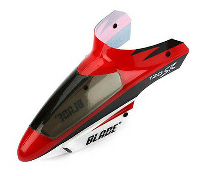Blade 120 SR Complete Red Canopy with Grommets BLH3118R