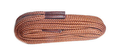 TAN Shoe and Boot Laces in FLAT all lengths available