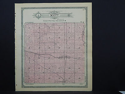 Illinois, Ogle County Map, 1912 S1#6 Township of Scott