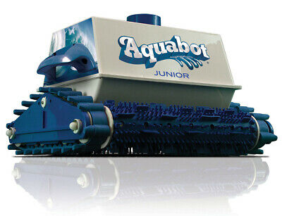 Aquabot Jr In Ground Automatic Swimming Pool Vacuum Cleaner Pump Walls & Steps