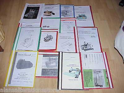 Brother B755 Industrial Sewing Machine Owner Manual Copy