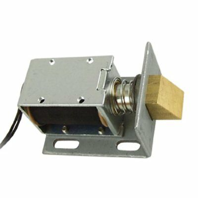 uxcell DC 12V Open Frame Type Solenoid for Electric Door Lock New