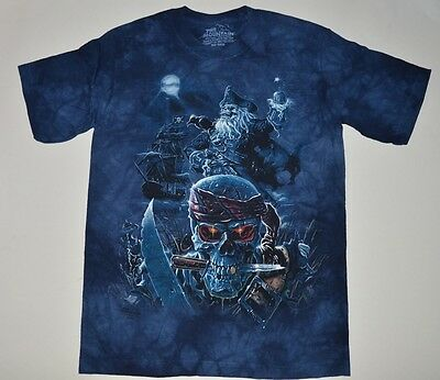 The Mountain SKULL & PIRATE SHIP T-Shirt Youth Boy Girl Child Sizes New
