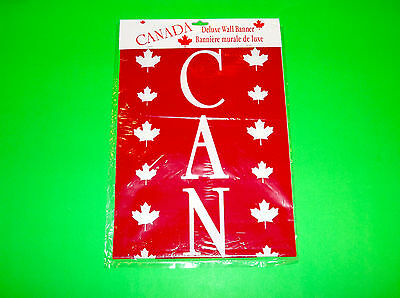 25 X 9 Canada Banner Olympic Hockey Support Your Team