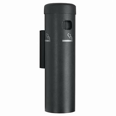 Aarco Products SB15W Wall Mounted Cigarette Receptacle Black