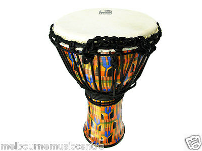 "TOCA 9"" DJEMBE Lightweight Rope Tuned *Excellent Bass Tones & Highs* NEW!"
