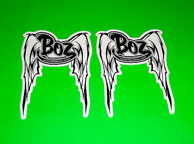Eric & Ben Bostrom Bozbros Motorcycle Racing Exhaust Sticker Decal Gsxr