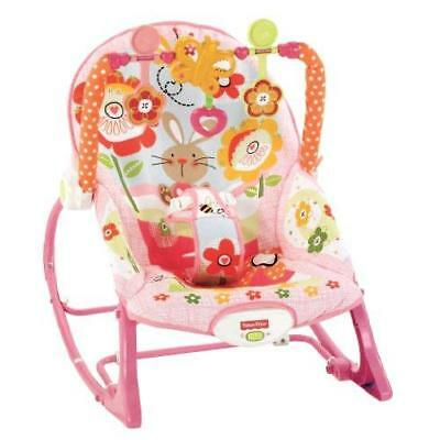 Fisher-Price Infant To Toddler Rocker, Bunny New