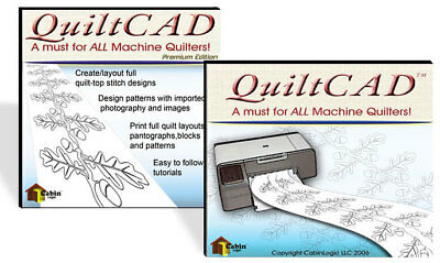 QuiltCAD Quilt-top Stitch Design Software