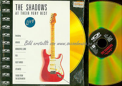 Laserdisc // The Shadows At Their Very Best