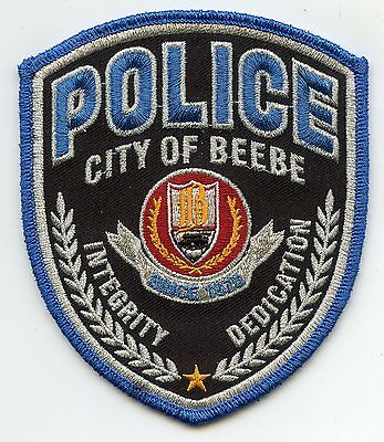 new style BEEBE ARKANSAS AR POLICE PATCH