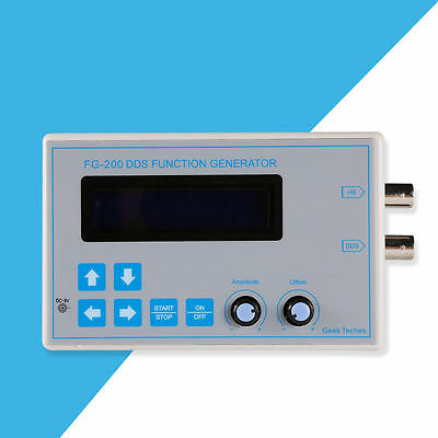 DDS LED Funktionsgenerator Square Sawtooth Triangle Sine Wave Touch Button