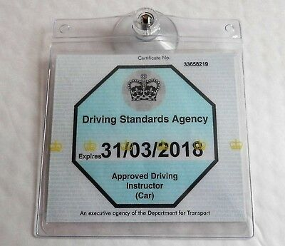 Universal Ticket License Permit Badge Holder Reusable Holder Transferable