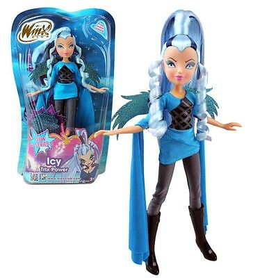 Winx Club - Bambola - Strega Witch Icy Trix Power 28 centimetri