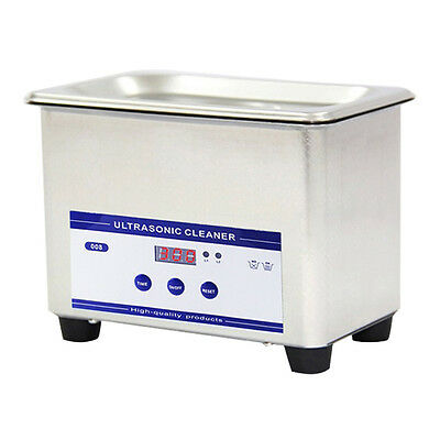 Ultrasonic Cleaner Bath Timer Stainless Steel Tank Cleaning 1L-30L