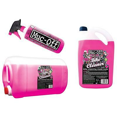 Muc Off Nano Tech 1 5 25 Litre 1L 5L 25L Alloy Wheel & Bike Cycle Cleaner