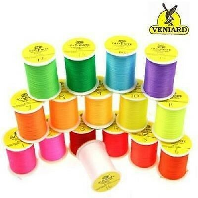 Glo-Brite Floss 25 yard spools - Veniards
