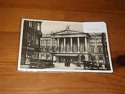 Old  postcard our ref #48269 BRESLAU STADTTHEATER THEATRE RP