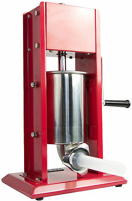 VIVO Sausage Stuffer Vertical Dual Gear Stainless Steel 3L/7LB 5-7 Pound of Meat