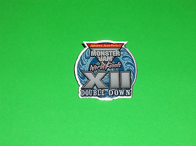 Monster Jam Las Vegas World Finals 12 Limited Edition Pit Party Collectors Pin