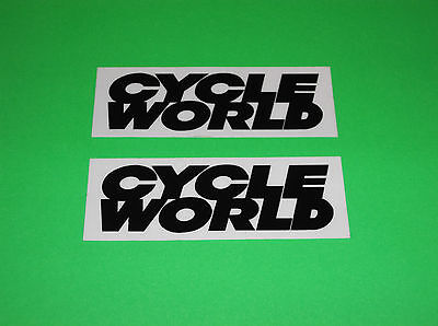 Cycle World Motorcycle Harley Davidson Motocross Atv Quad Stickers Decals