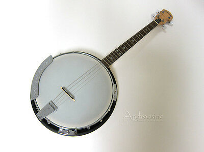 GOLD TONE IRISH TENOR BANJO w/ GIG BAG 4-STRING CRIPPLE CREEK CELTIC ~ CC-IT
