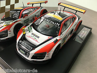 "Carrera Digital 124 23808 Audi R8 LMS ""C. Abt Racing, No. 10"" NEU OVP LICHT"