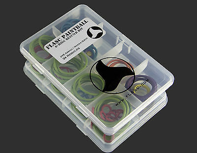 DYE Assault Matrix DAM 3x color coded o-ring rebuild kit by Flasc Paintball