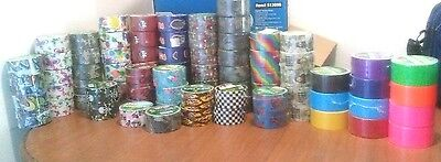 Duck Brand Duct-Tape, Different Patterns and Colors, pick what you need.