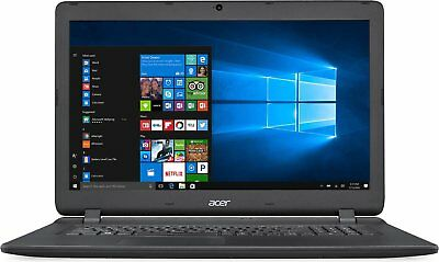 """17,3"""" Notebook Acer ES1 732 Quad Core 4x2,2Ghz 8GB 500GB USB 3.0 Win 10 Office"""