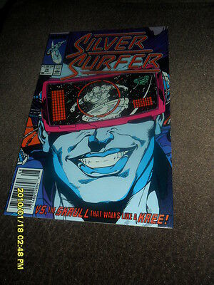 1989 Silver Surfer #26 2Nd Series The Skrull