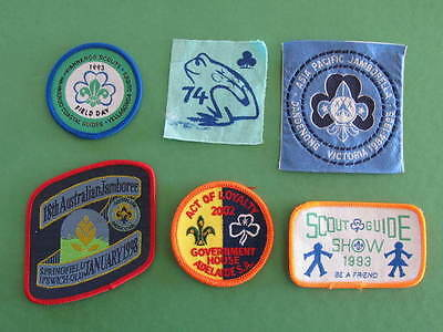 Wanneroo Coastal Guides Adelaide Dandenong Ipswich Qld 6 Guides Scouts Badges