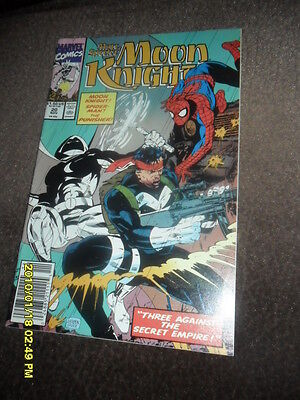 1990 Marc Spector Moon Knight #20 Spider-Man & The Punisher