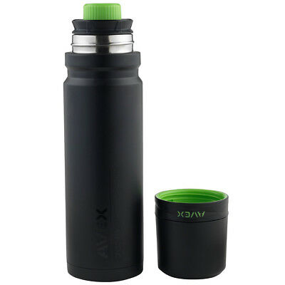 Avex 24 oz. 3Sixty Pour Vacuum Insulated Thermal Bottle - Black