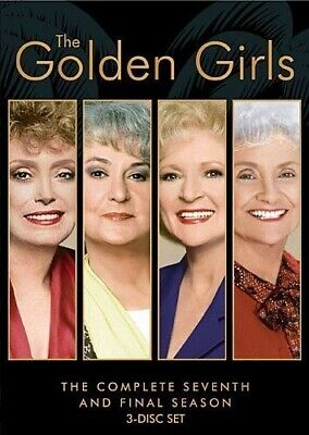 Golden Girls: Complete Seventh Season - 3 DISC SET (2016, REGION 1 DVD New)