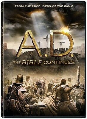 A.D. The Bible Continues - 4 DISC SET (2015, REGION 1 DVD New)