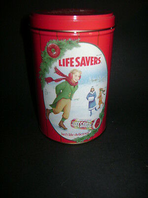 1991 Life Savers 1991 Limited Edition Holiday Keepsake Tin