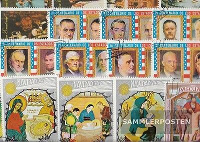 Equatorial-Guinea 100 different stamps