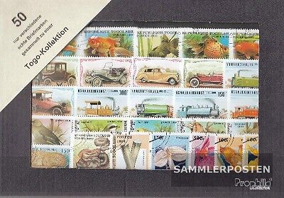 Togo 50 different stamps
