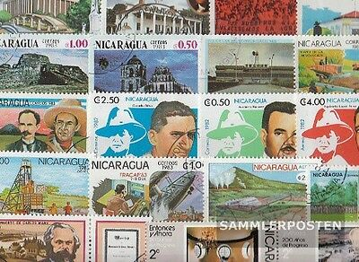 Nicaragua 50 different special stamps