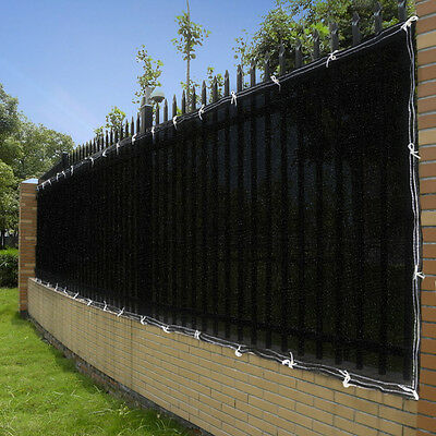25ft 50ft Privacy Screen Mesh Fence Cover Windscreen Fabric For 4ft/6ft Fencing
