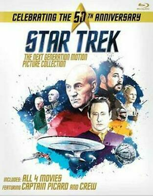 Star Trek: the Next Generation Motion Picture Coll - BLU-RAY Region 1 Free Shipp