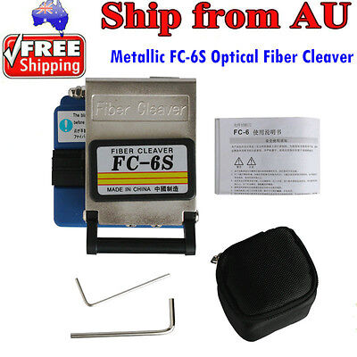 AU Free Shippping High Quality Metallic FC-6S Optical Fiber Cleaver